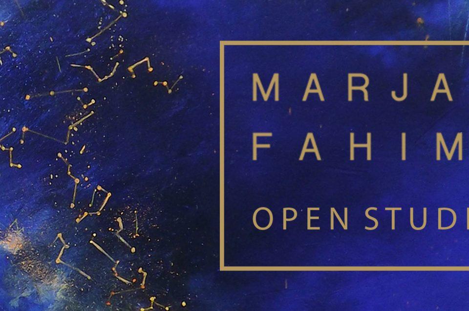 MARJAN FAHIMI – OPEN STUDIO